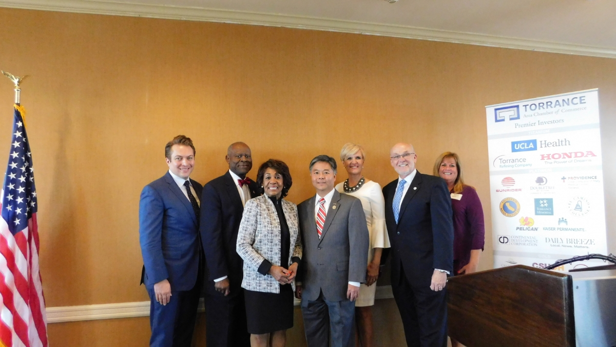 Rep  Waters Keynotes Torrance Chamber of Commerce State of