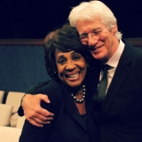 Congresswoman Maxine Waters and Richard Gere