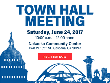 Town Hall Meeting graphic